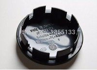 Wholesale Passat Wheel Center Cap - 20pcs 65mm wheel center hub caps Logo badge emblems for Golf Jetta Mk5 Passat B6 for VW 3B7 601 171 Car styling