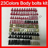 Wholesale Mv Agusta F4 Fairings - Fairing bolts full screw kit For MV Agusta F4 05 06 R312 750S 1000 R 750 1000R 312 1078 MA 2005 2006 Body Nuts screws nut bolt kit 13Colors