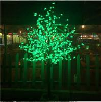 ingrosso ciliegio principale blu-Liberi la nave 1.8M / 6ft LED blu Cherry Blossom Tree Outdoor Garden Pathway Holiday Natale Capodanno Luce Decorazioni di Natale