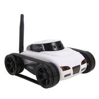 spy camera оптовых-Я-шпион мини RC танк 0.3 м HD камера видео танк Wifi беспроводной iOS реального времени Android дистанционного управления iPhone игрушки для детей