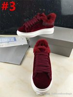 Wholesale clear trim - Fashion Alexander Oversize McQueens Leather Sneaker Oversized Sneaker Women's White Jean Denim Trim Shoes Runner Sneakers With Box