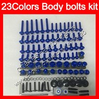 Wholesale Honda Rr Plastics - Fairing bolts full screw kit For HONDA CBR1000RR 04 05 06 07 CBR1000 RR CBR 1000 RR 2004 2005 2006 07 Body Nuts screws nut bolt kit 23Colors