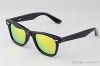 Wholesale titanium sport online - Fashion Cool Sunglasses Cat Eye Brands Design Sun Glasses Eyeglasses Frames Gafas de sol Men Women Mirror glass AAA with case Discount Sale