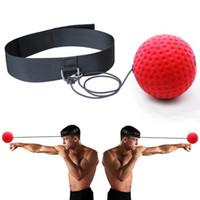 bandeaux achat en gros de-headband adultes entrainement vitesse taekwondo punching-ball coup de pied taille libre combat boxe grappin boxeur combat réflexe balle de boxe