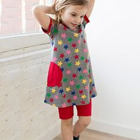 Wholesale Kids Clothes For Weddings - 6 Pack Kids Girl Summer Dress with Appliques Christening Party Prom Princess Occasion Wedding Flower Dresses for Kids Clothes