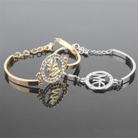Wholesale metal letters numbers - Letter Bracelets For Women Bracelets Metal Pendants Heart Charm Braclets Bracelets Jewellry Bangles Gifts Pulsera Titanium Steel Bracele