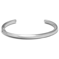 Wholesale Bracelet Link Types - whole saleMcllroy Steel C Shaped Bangle Bracelets Fashion Titanium Steel Cuff Bangle for Women Type C twisted lines Bracelets