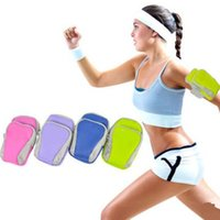 Wholesale double vibe - Double Zipped Multifunction bag sport Gym armband for Lenovo Vibe A7010 zuk edge k10e70 S858t A368T A859 A668T A606 A680 A860