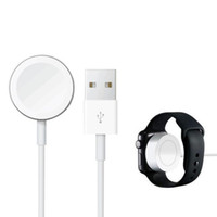 Wholesale watch shorts online - 2018 smart watch charger cable Magnetic Power charging cable mm mm Charging short battery cable for smart bracelet DHL