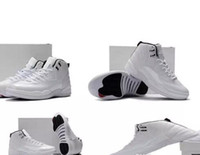 Wholesale Usa Size 12 - Cheap New 12 XII Rising Sun White Mans 12s Basketball Shoes Sneakers AAA High Quality Wholesale Size USA 8 13 Drop Shipping