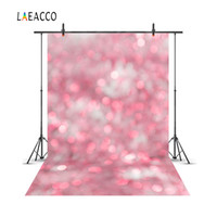 Wholesale portrait studios children - Laeacco Pink Glittering Bokeh Portrait Newborn Baby Photography Backgrounds Customized Photographic Backdrops For Photo Studio