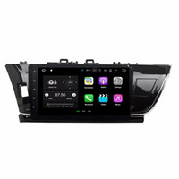 Wholesale android car dvd for toyota corolla resale online - 2GB RAM Android Quad Core Car DVD Car Radio DVD GPS Multimedia Player for Toyota Corolla With Bluetooth WIFI Mirror link