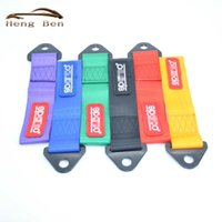 Wholesale Universal Ribbon - HB Racing SPCO Style Universal Tow Strap   Tow Hook Ribbon FOR Front Rear Bumper