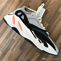 Wholesale Leather Bowl - 2018 Kanye West 700 Boost Best Quality Classic Running Shoes With Wave Runner 700 Boosts Sports Shoes Fashion Sneaker With Box