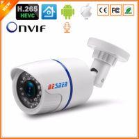 outdoor-bewegungs-erkennung ip-kameras großhandel-BESDER H.265 Audio 2MP 3MP 5MP CCTV IP Überwachungskamera Bewegungserkennung Alarm Outdoor Onvif Überwachungskamera IP Nachtsicht