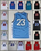 Wholesale big brown sale - Sale Space Jam Jersey 23 Michael Basketball North Carolina College TUNESQUAD Squad Space Big Dunk Team Dream USA 96 98 All Star