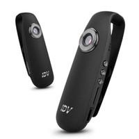 Wholesale minidv recorders - 2018 IDV 007 Mini Camera DV Loop Video Voice Recorder HD 1080P 12MP 130 Degree Wide Angle Motion Detector Camcorders 32GB