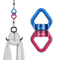 Wholesale swings sets resale online - 30KN Safest Rotational Device Hanging Accessory with Carabiners For Swing Setting Children Swing Hanging Hammock Bungee Dance
