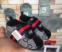 andador para bebé durante años al por mayor-Nueva moda de primavera para niños pequeños Walker 0-1 años Zapatos de bebé Zapatillas Zapatillas de deporte Prewalker Zapatillas de lona Zapatillas Kawaii