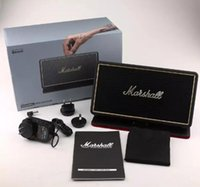 Wholesale Flips Speakers - Marshall Stockwell Portable BlueTooth Speaker With Flip Cover Case drop shipping