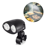 Wholesale bbq lighting for sale - Hot Black BBQ Touch Sensitive Switch Grill Light High quality Bright LED Kitchen Barbecue Light Outdoor Night Light Q0440