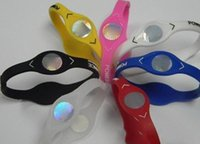 energie energie silikon armband armbänder großhandel-2018 neue Mode Silikon Energie Band Soft Silikon Power Armband Armbänder Sport Gummi Silikon Magie Schmuck Armbänder Bands 5 Größe