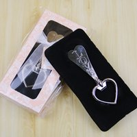 Wholesale bottle opener collection resale online - LOVE Heart Shape Beer Wine Bottle Cap Opener Collection Wedding Party Favor Anniversary Gifts Event Supplies SN1271