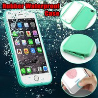 Wholesale swim full body - Ultra Thin Waterproof Cases Full Body Cover For iphone X Soft TPU Diving Swimming Cases for iPhone 6 6s 7 8 Plus 5 5S
