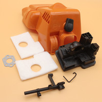 Wholesale parts for chainsaws - Top Engine Cover Air Filter Housing Switch Shaft Kit For STIHL MS 180 170 MS180 MS170 018 017 Chainsaw Spare Parts