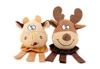 fil libre achat en gros de-Chat chien jouets de bande dessinée jouet pour animaux de compagnie pour chiots douillets et chatons floss jouets mâche livraison gratuite