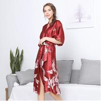 camisón para chica sexy al por mayor-Fancy Women Nightgown Lady Home Ropa Sexy Girls Sleep Wear