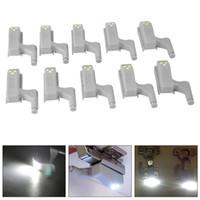 için menteşeler toptan satış-Evrensel Kabine Dolap Menteşe LED Işık LED Sensörü Modern Mutfak Yatak Odası Lamba Için Kabine Işıkları Altında Gece Lambası Pil Kumandalı