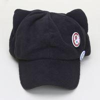 Wholesale Eva Hats - Anime Neon Genesis Evangelion EVA Asuka Langley Soryu Cat Ear Polar Fleece Cosplay Hat for woman Cap + badges