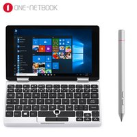 Wholesale intel tablet quad core online - One Netbook One Mix Yoga Pocket Laptop PC inch Windows Intel Atom x5 Z8350 Quad Core GHz GB GB Dual WiFi Tablet