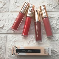 Wholesale Free Lip Gloss Samples - IN STOCK! Fenty Beauty By Rihanna Non-stick Cup Lip Gloss 12 Colors Moisturizer Lipstick Woemn Makeup Lipgloss Limit Liquid free ship sample