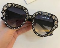 Wholesale heart sunglasses for sale - Luxury Sunglasses For Women Heart Diamond Design Summer Style Rectangle Full Frame Top Quality UV Protection Come With Package
