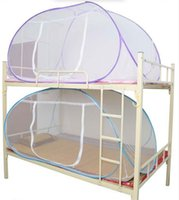 Wholesale Cotton Mosquito Nets - Mosquito Net For Bed,Pink Blue Purple Student Bunk Bed Mosquito Net Mesh,Cheap Price Adult Double Bed Netting Tent New