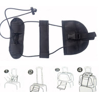 Wholesale security accessories online - Travel Accessories Elastic Luggage Strap Trolley Belt Suitcase Travel Bag Fixed Belt Adjustable Security Packing DDA255