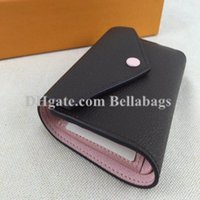 Wholesale free discount cards for sale - Hot sale Discount Original Box Purse Lady Wallet Women brand designer discount drop shipping Christmas gift