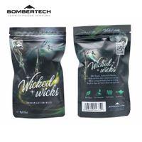 Wholesale organic electronics for sale - Group buy BomberTech Wicked Wicks Premium Cotton Wicks for DIY Fans Organic Cotton Electronic Cigarette Spare Part