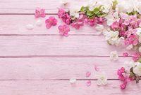 ingrosso fondali di fiori-Fotografia Sfondo Neonato Pavimento in legno Foto Sfondo Baby shower Fiore Sfondo per Photo Studio Puntelli di piccole dimensioni