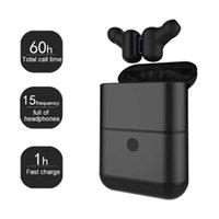 ingrosso cuffie costruite mic-Cuffie Bluetooth freewalker Cuffie wireless X2 Auricolari stereo auricolari con 2 mini auricolari integrati wireless