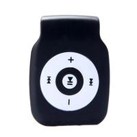 hifi mp3 usb sd player оптовых-2018 New Fashion Mp3 Digital Music Player Hifi Mini Clip Metal USB MP3 Player Support Micro SD TF Card Music