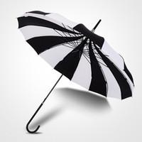 ingrosso ombrello di nozze nera-Ombrello da sposa di moda Ombrello vittoriano Ombrello da sposa con ombrelli colorati