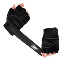 Wholesale Gym Fitness Gloves Wholesale - 1Pair Workout Gloves Weight Lifting Gym Wrist Wrap Sport Training Fitness Gloves