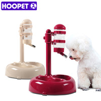 Wholesale Pets Drink - Hoopet Advanced Pet Dogs Drinking Rotatable And Lift Cats Food Bowl Convenience Clean White Red