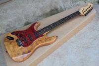 Wholesale left handed electric guitars shop for sale - Group buy Custom Shop ST Strat Stratocaster Red Electric Guitar With Pickups Left Handed Guita