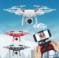 hubschrauber videokamera großhandel-Luftfernbedienung Drohne und 2MP Kamera HD Video RTF Quadcopter Drohne Fernbedienung Hubschrauber Drohne Flugzeug Spielzeug