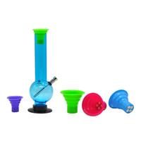Wholesale random materials - Food-Grade Silicone Material Smoking Mouth Tips with 100% grade silicone smoking Pipe Color Random