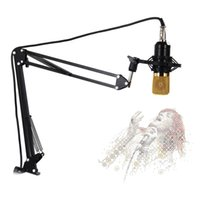 Wholesale Microphone Arm - OGV 270 Degree Adjustable Metal Suspension Scissor Arm Stand Holder Microphone microphone stands